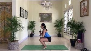 latihan otot pantat, paha dan betis