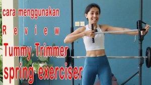 tummy trimmer spring exerciser