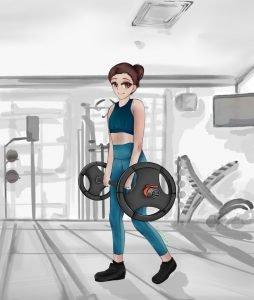 latihan kekuatan wanita